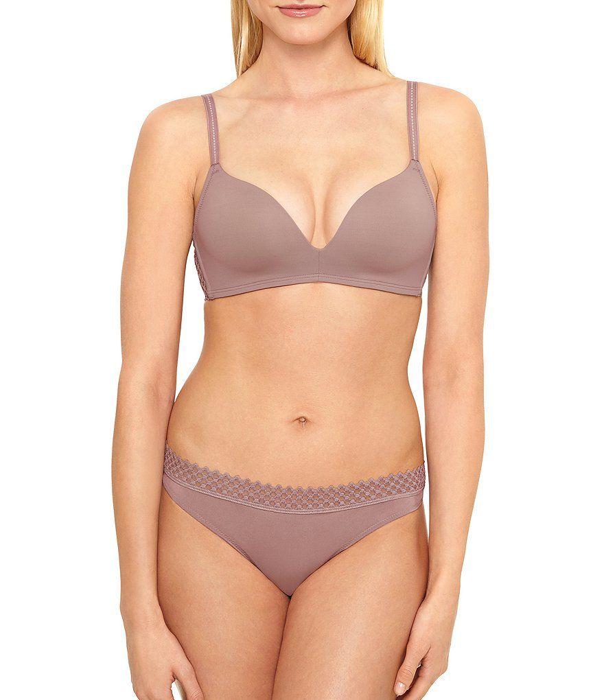 bc5feae673 b.tempt d by Wacoal Tied in Dots Wire-Free Push Up Bra