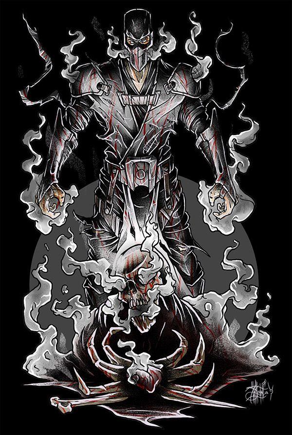 Personajes De Mortal Kombat Por Calvin Munoz En Tattoo