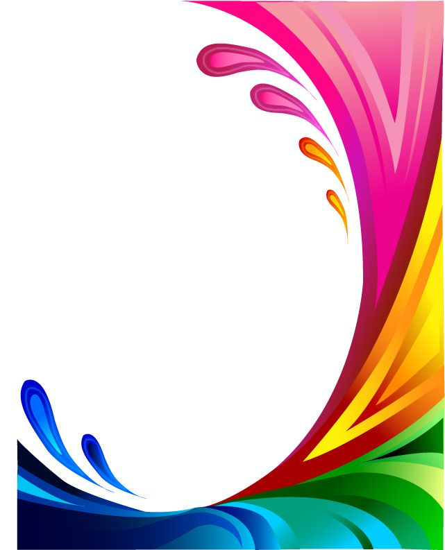 Swirly By Infatuation Disaster On Deviantart Colorful Borders Design Poster Background Design Flower Background Wallpaper