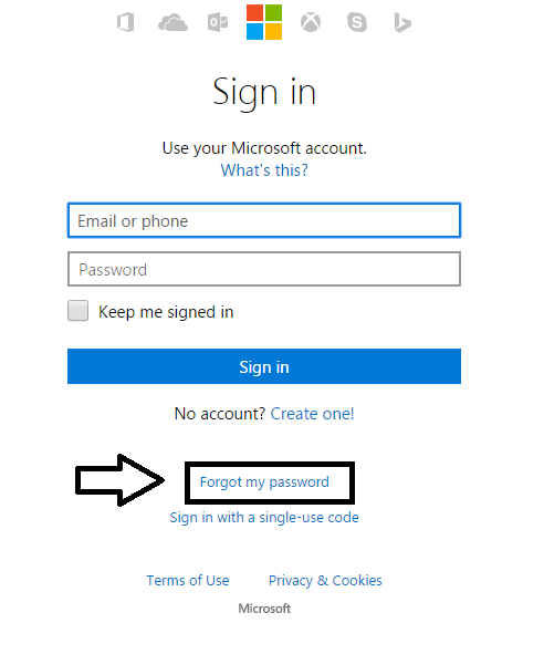 Can T Login To Your Hotmail Account Are You Locked Out Of Your Email Account There Are Many Reasons Why You Can Forgot My Password Email Account My Password