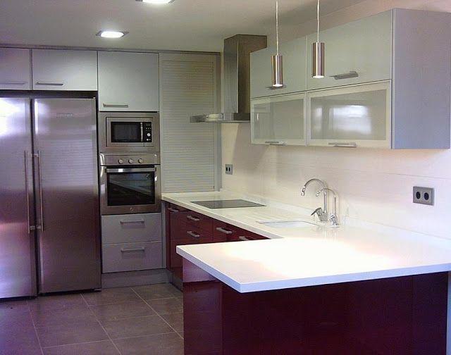 Soluciones para las esquinas cocinas pinterest - Soluciones para muebles de cocina en esquina ...