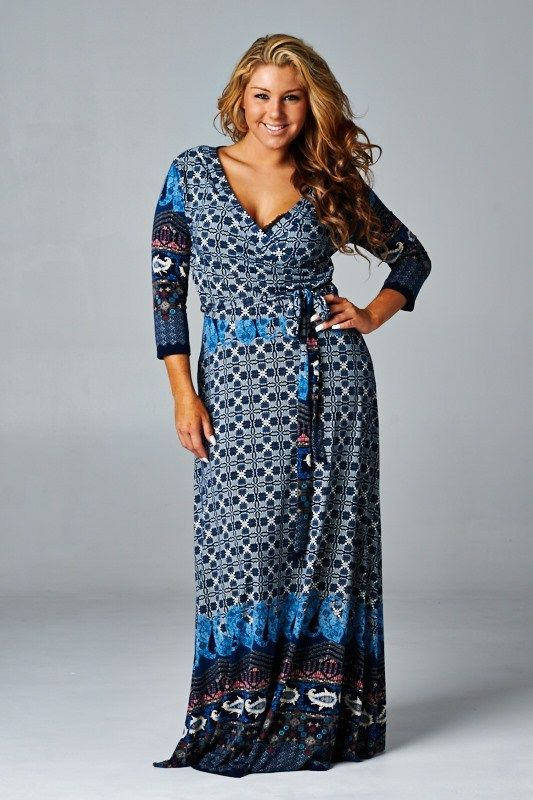 Designer plus sizes dresses for women With a Great Variety ...