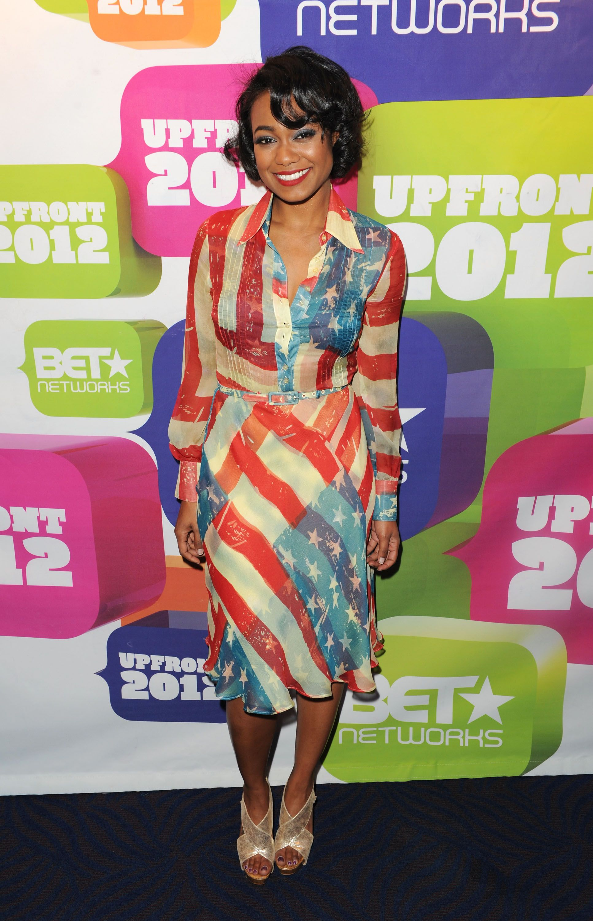 12 Celebrities Most Patriotic Outfits For The 4th Of July Hollywood Fashion Fashion Tatyana Ali