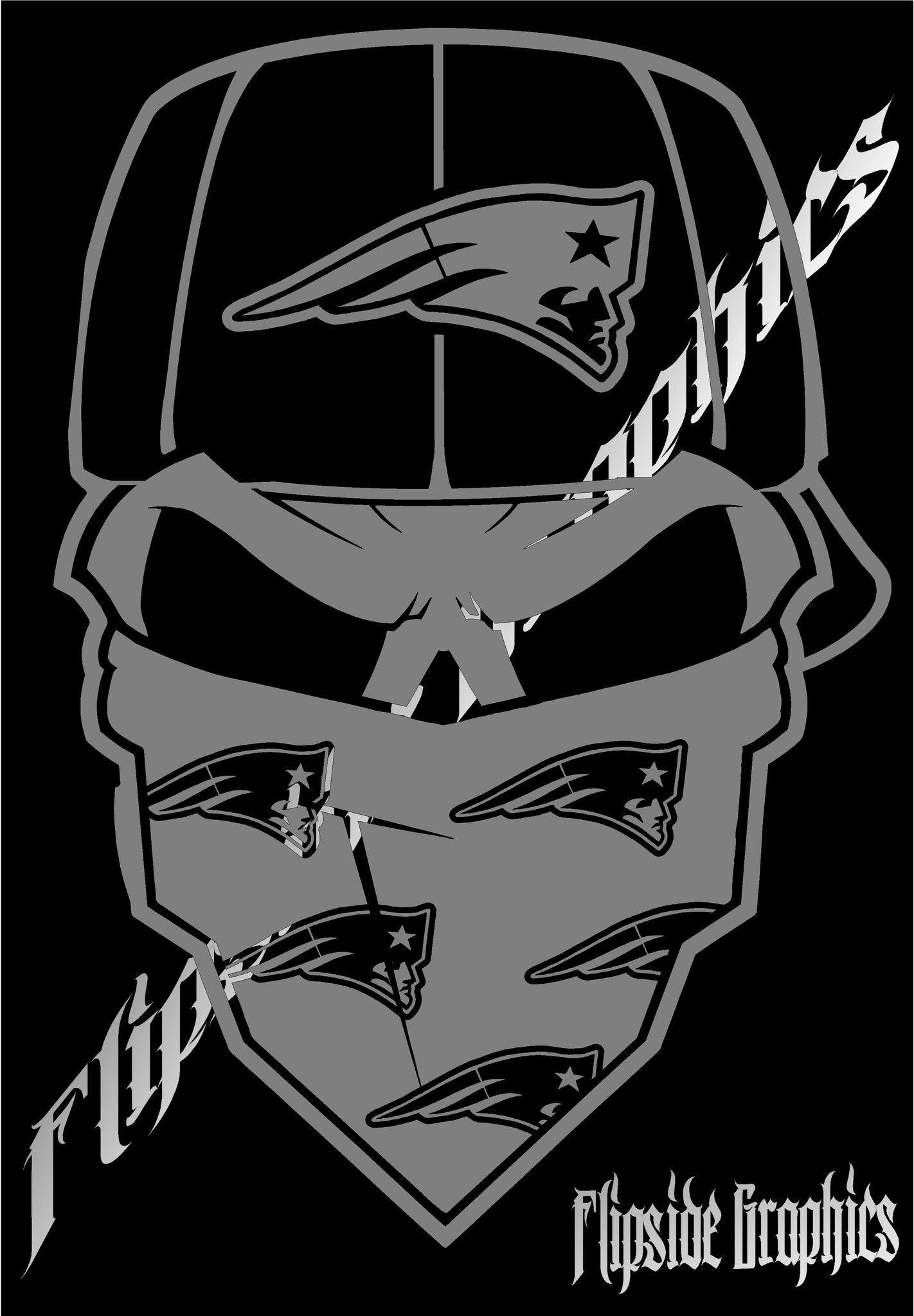 Custom Decal Bandana New England Patriots 24.95 via