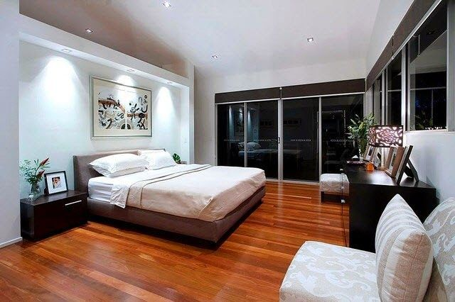 Give Your Bedroom A Clean Modern Look And Feel By Adding Recessed Lights These Steps
