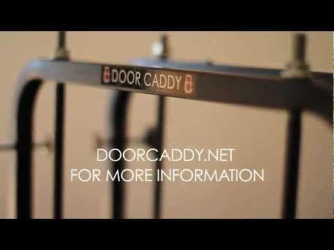 The Door Caddy door installation cart makes it possible for