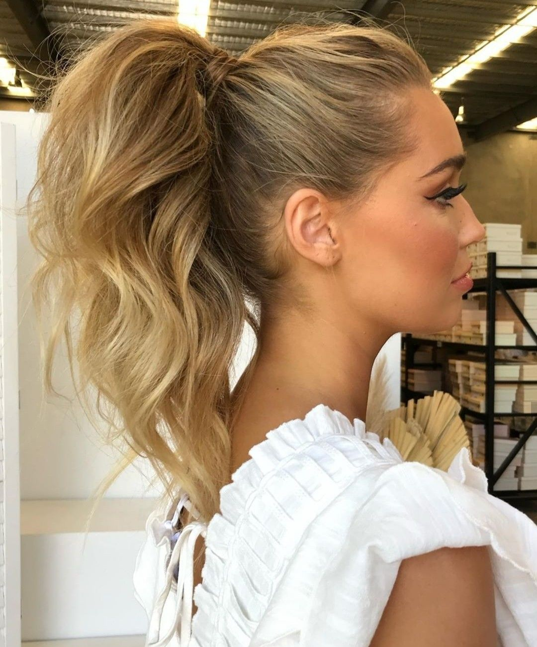 Pin By Tanja Tanjica On Wedding In 2020 High Ponytail Hairstyles Hair Styles Pony Hairstyles