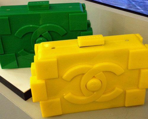 febcfb44a40985 Chanel Lego Çanta: Boy Brick Clutch | STYLE | Chanel lego, Chanel y ...