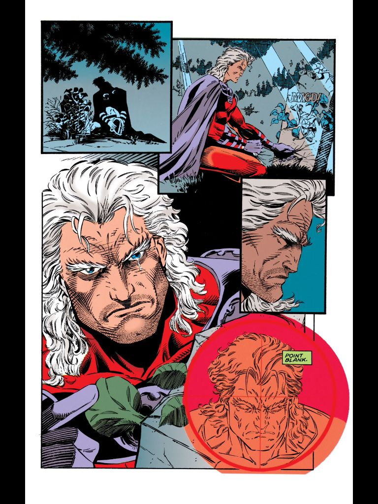 X Men Unlimited 1 Magneto Origin Comic Book Artwork Marvel Heroes X Men