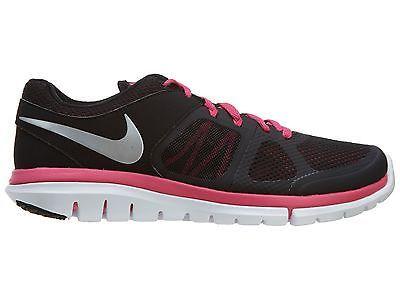 5801fcff15cd1 Nike Flex 2014 Rn Msl Womens 642780-002 Black Pink Running Shoes Wmns Size  9.5
