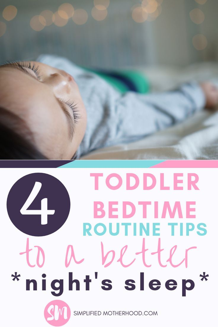 4 Toddler Bedtime Routine Ideas to Help Your Toddler Get ...