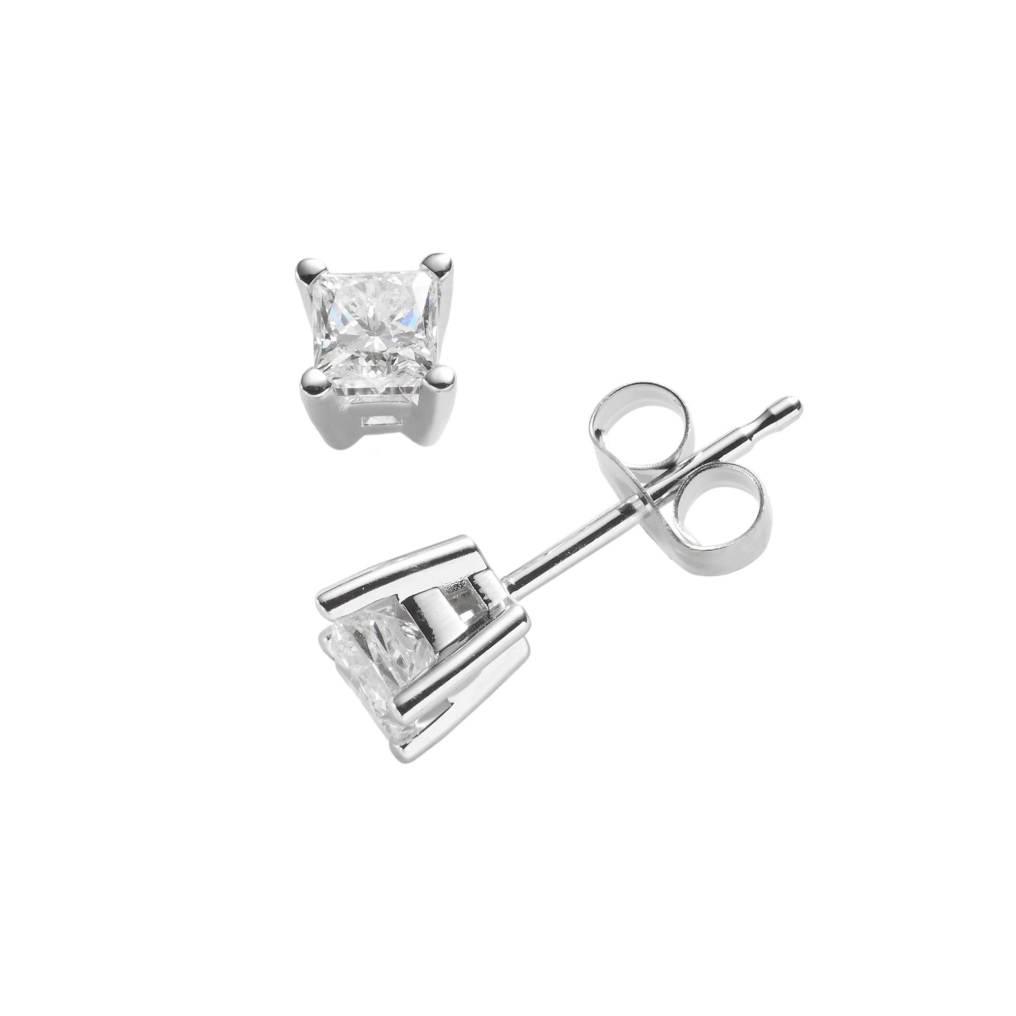 s p mens earrings diamond categories princess cut hip men solitaire stud hop