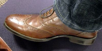 1f489e675cf0f Stafford® Ashton Mens Wingtip Dress Shoes