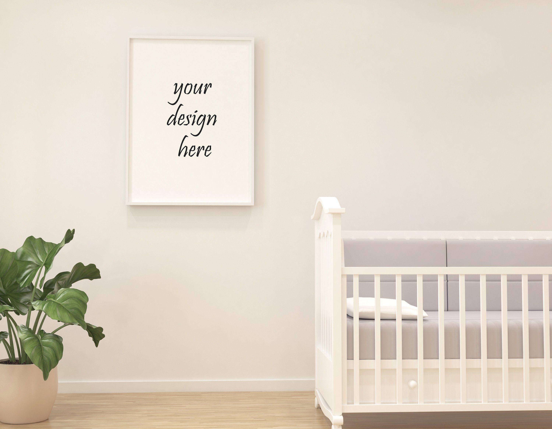 Frame mockup frame mockup simple mockup bed room mockup modern