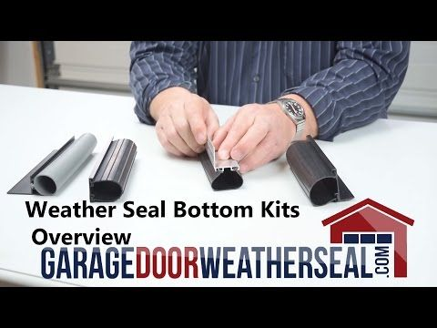 Weather Seal Bottom Kits Overview Youtube Home Maintenance