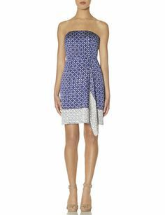 OBR Strapless Wrap Look Dress from THELIMITED.com #TheLimited