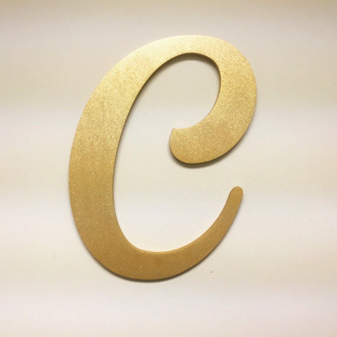 Letter C Wall Hanging | Wall Plate Design Ideas