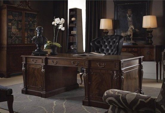 21 Gorgeous Gothic Home Office And Library Décor Ideas Digsdigs