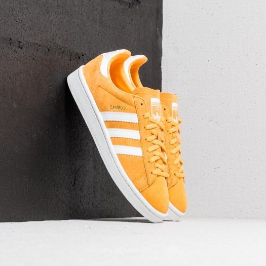 timeless design c0795 8f700 adidas Campus Woman   Chalk Orange  Ftw White  Crystal White    112     yellow  sneakers  retro  classic