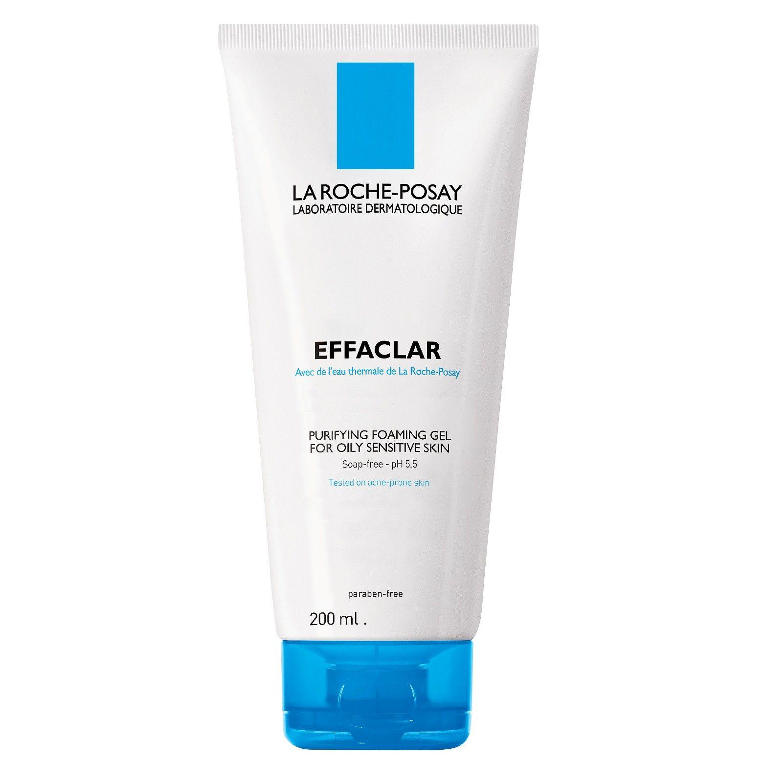 La Roche Posay Effaclar Purifying Foaming Gel Face Cleanser 6 76 Fl Oz Oily Sensitive Skin Gel Cleanser La Roche Posay