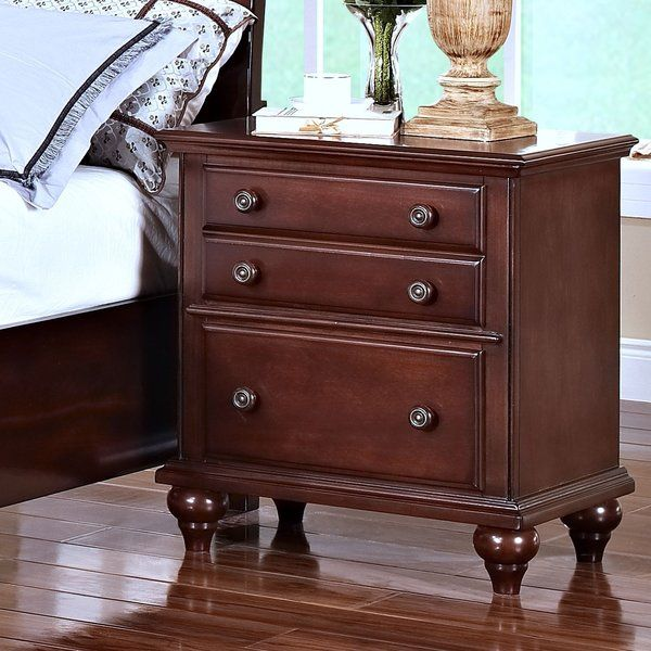 Best Jarvis 2 Drawer Nightstand 2 Drawer Nightstand 3 Drawer 400 x 300
