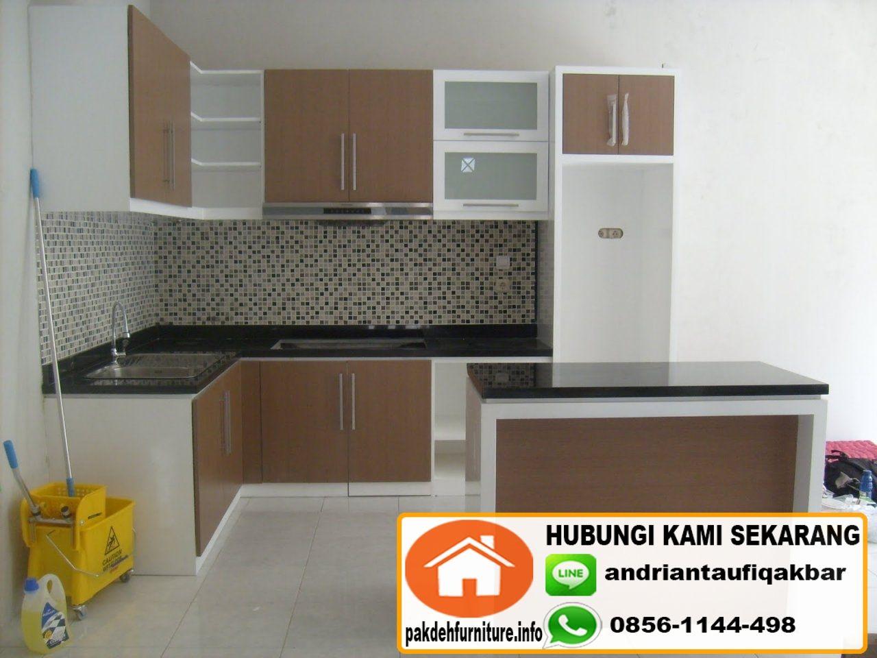 Jual kitchen set minimalis di bogor