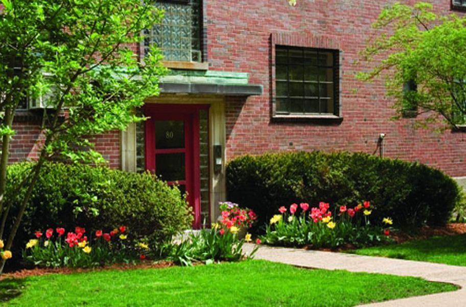St. Paul Gardens apartment buildings in Brookline MA