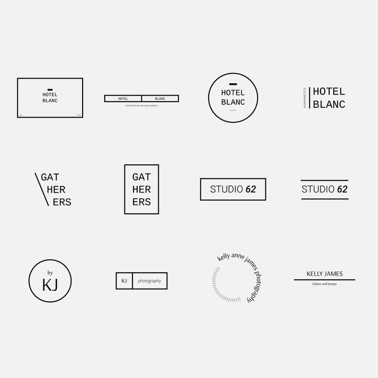 Photo of 12 Minimalist Logo Templates — Jordan Prindle Designs | Creative Brand and Squarespace Designer for Entrepreneurs