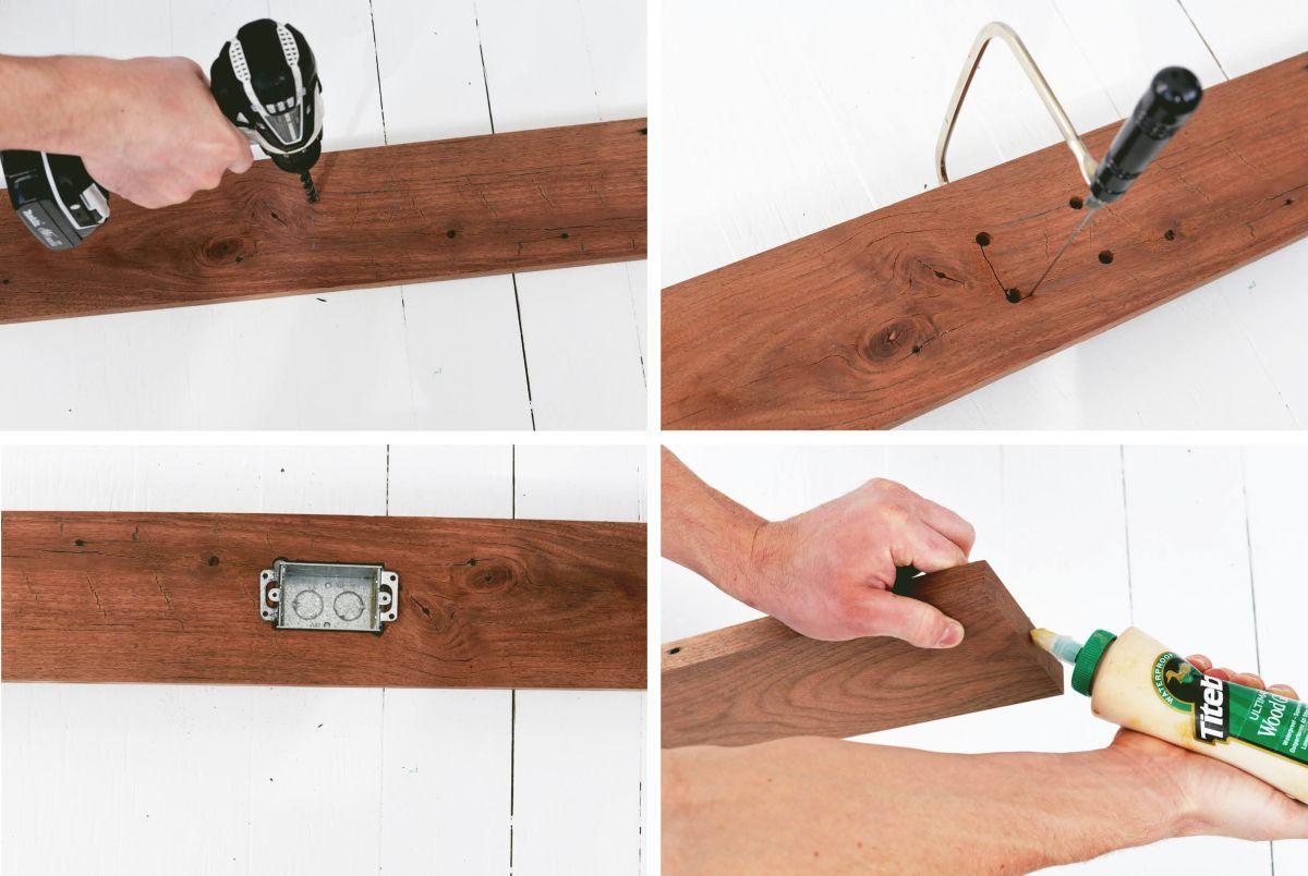 Diy Narrow Sofa Table With Outlet Diy Sofa Table Narrow Sofa Table Sofa Table