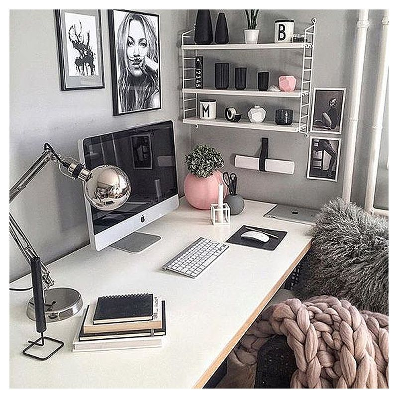 Pretty Home Office Ideas For Women Glam Chic Home Office