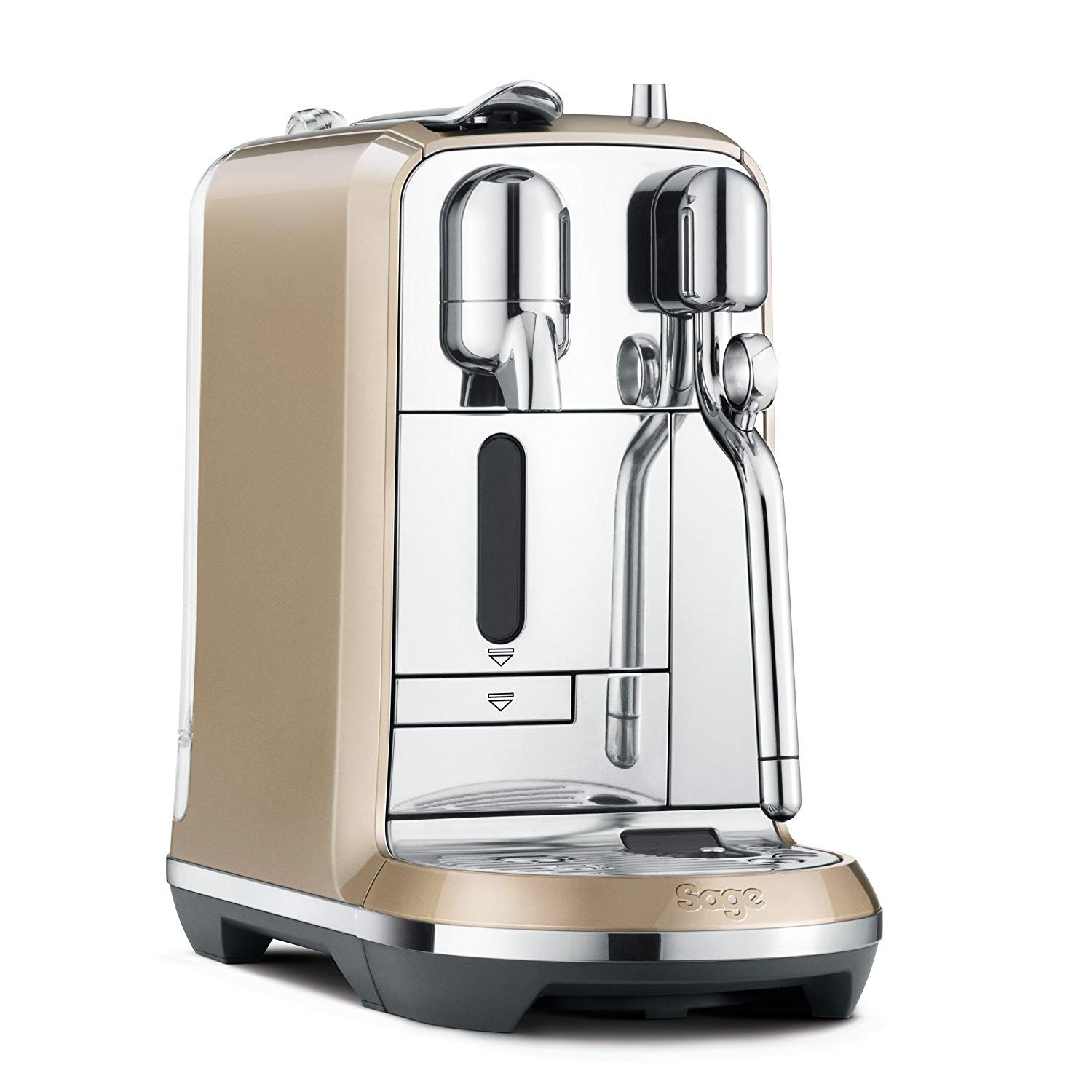 Nespresso Creatista Coffee Machine, Champagne by Sage