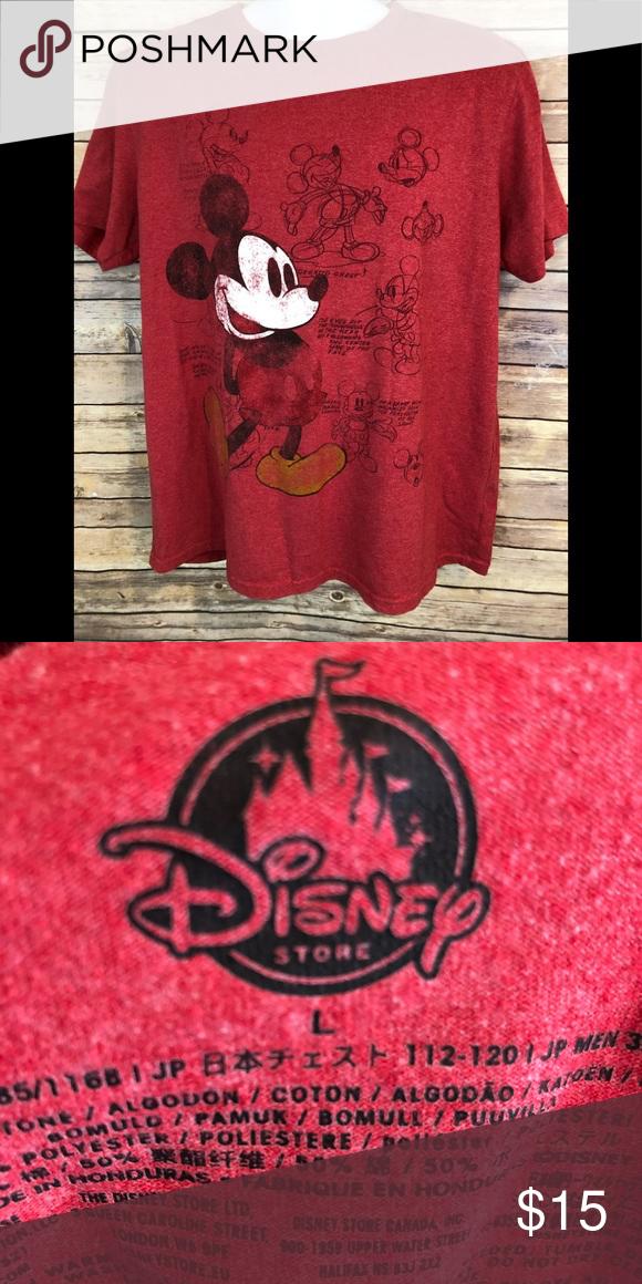 f2fb7933e4cd Spotted while shopping on Poshmark  Disney Mickey Large T-shirt!  poshmark   fashion  shopping  style  Disney  Other