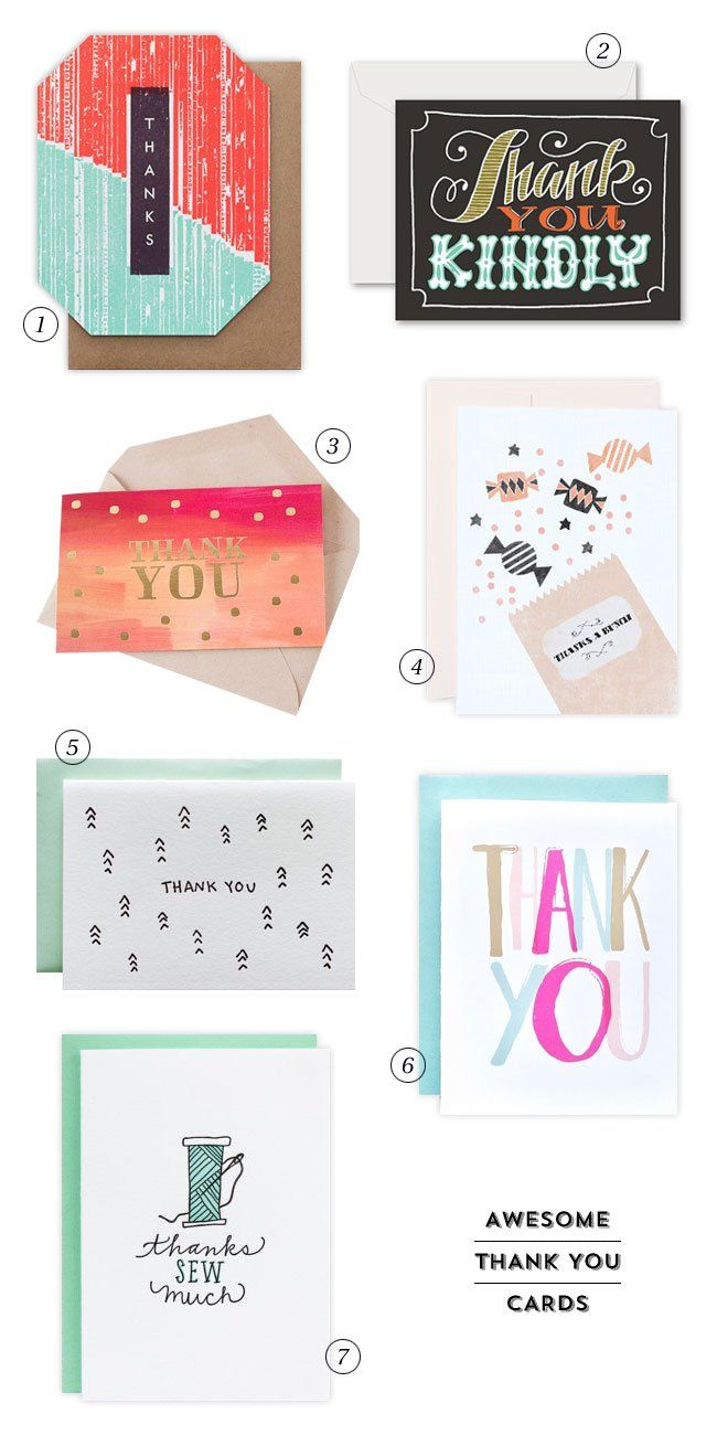 7 Awesome Thank You Cards With Images Cards Inspirational