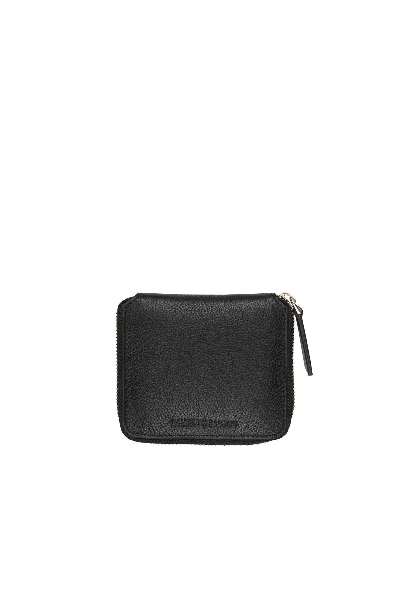 974b1a7e612 Mugg wallet w 3338, BLACK | Exterior | Wallet, Zip around wallet, Bags