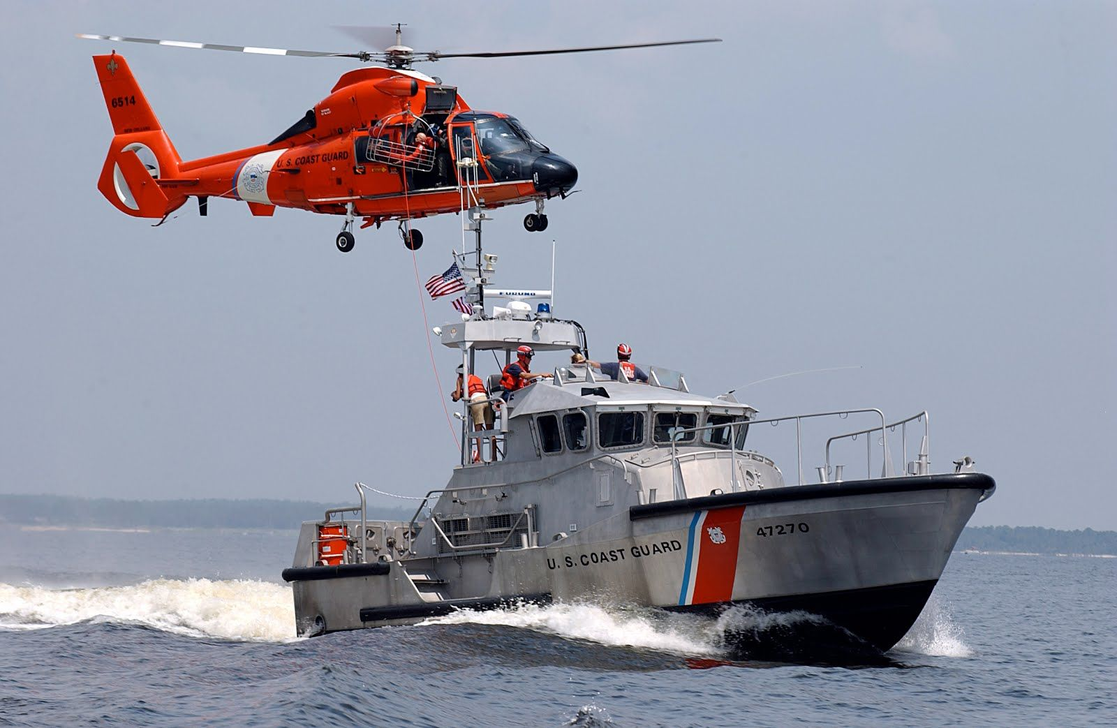 US Coast Guard Defending The Nation Search & Rescue US