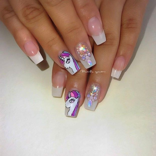 17 cute french nail designs to celebrate bastille day glitter 17 cute french nail designs to celebrate bastille day prinsesfo Gallery