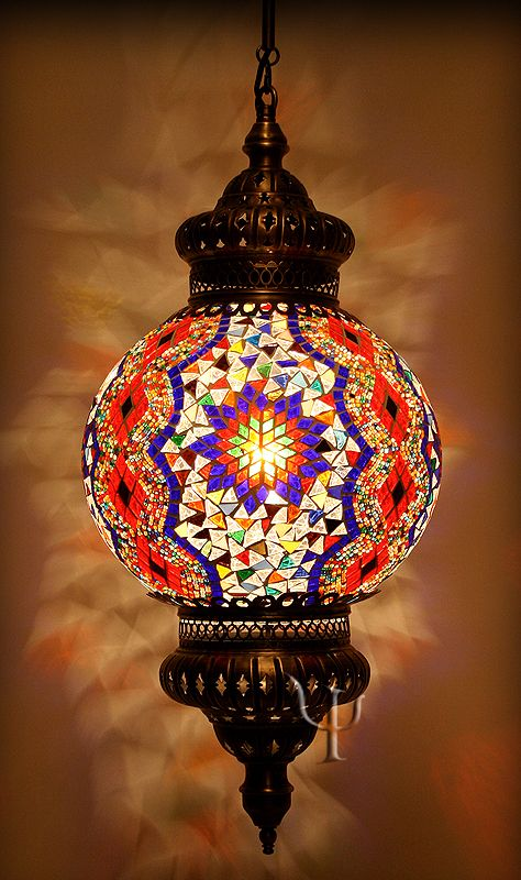 Turkish Mosaic Lamps Ottoman Chandeliers Mosaic