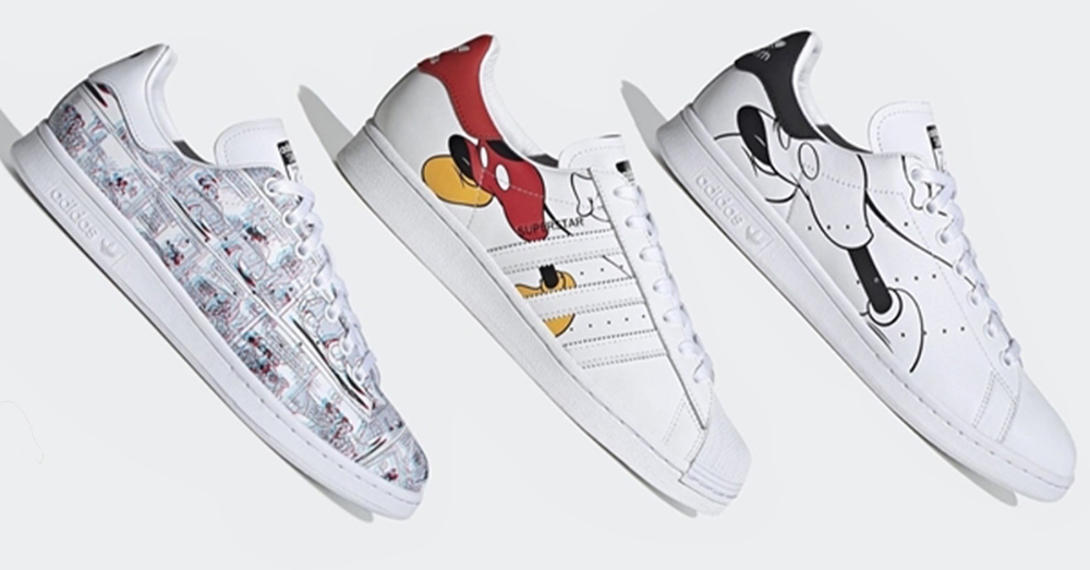 New Disney x adidas Collection Featuring Mickey Mouse