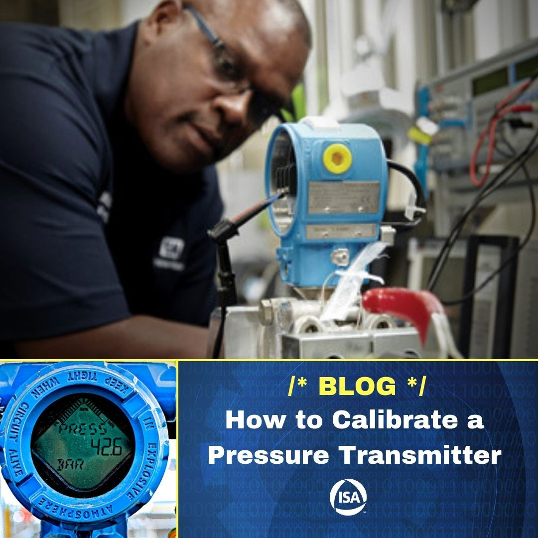 How to calibrate a pressure transmitter transmitter