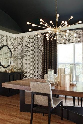 Get The Look 17 Mid Century Modern Glamorous Dining Room Design