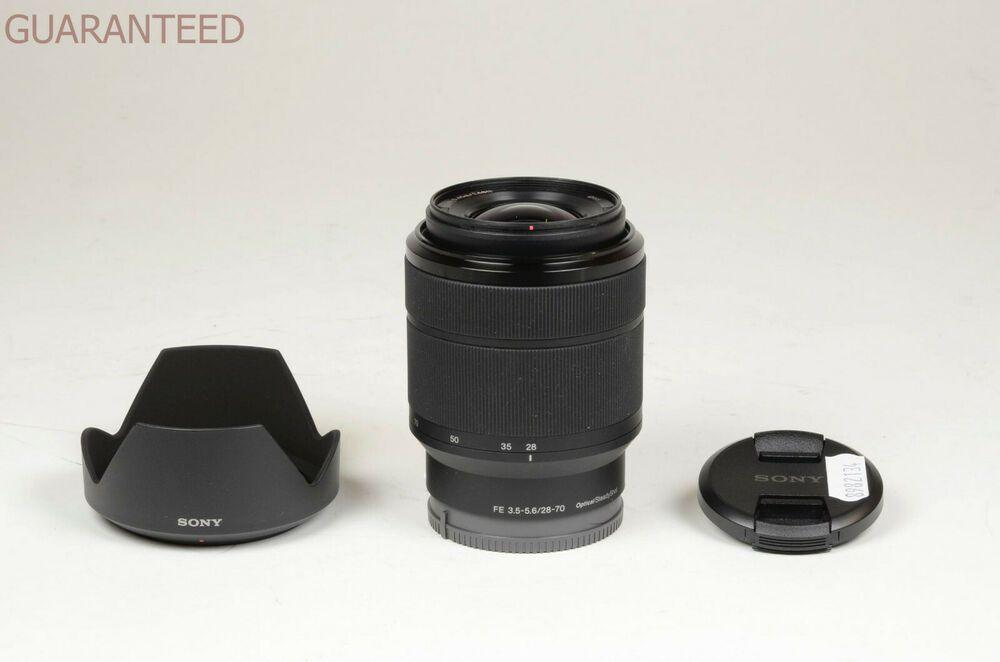 Sony Lens 28 70 Mm F 3 5 5 6 Fe Oss E Mount Garanzia Tuttofoto Com Sony Lens Stuff To Buy Lens