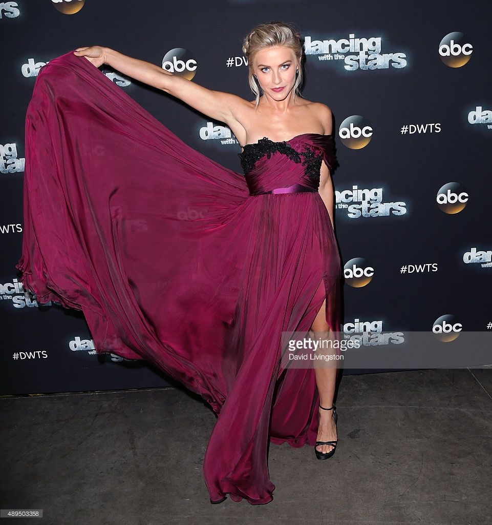 DWTS judge Julianne Hough attends 'Dancing with the Stars ...