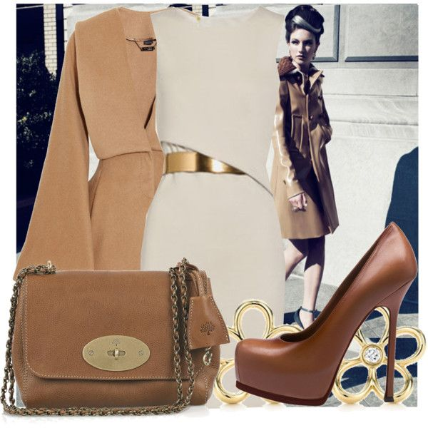 """""""Classic lines"""" by pensivepeacock on Polyvore"""