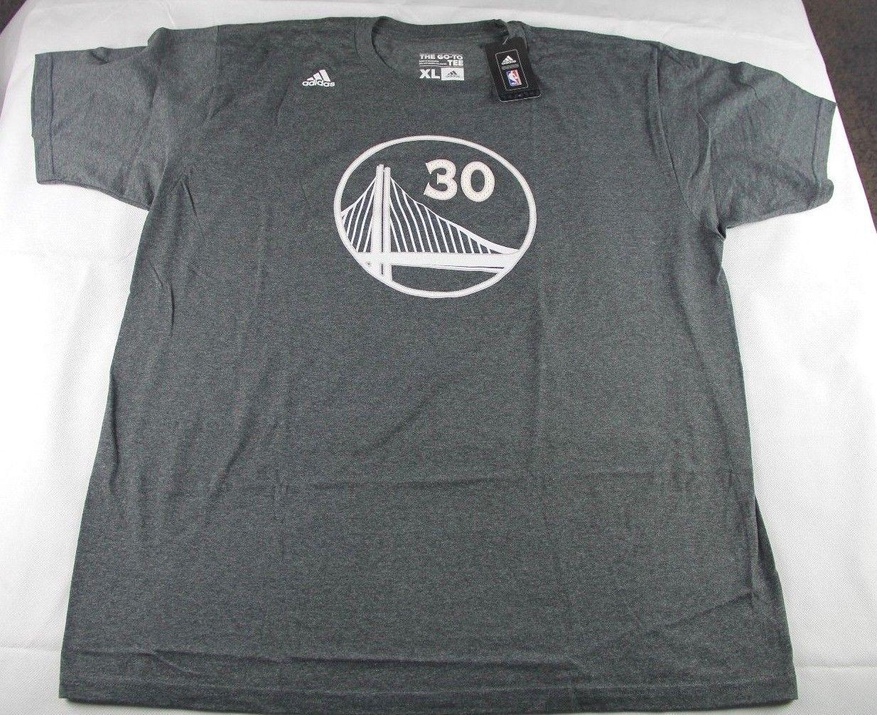 gorące produkty sprzedaż obuwia niższa cena z Adidas stephen curry nba warriors grey/white embroidered t ...