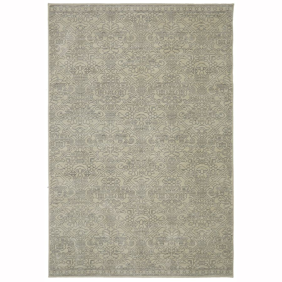 Allen Roth Resbridge Tan Rectangular Indoor Woven Area Rug Common 5 X 8 Actual 63 In W X 94 In L X 0 5 Ft Dia Moroccan Area Rug Mohawk Home Area Rugs