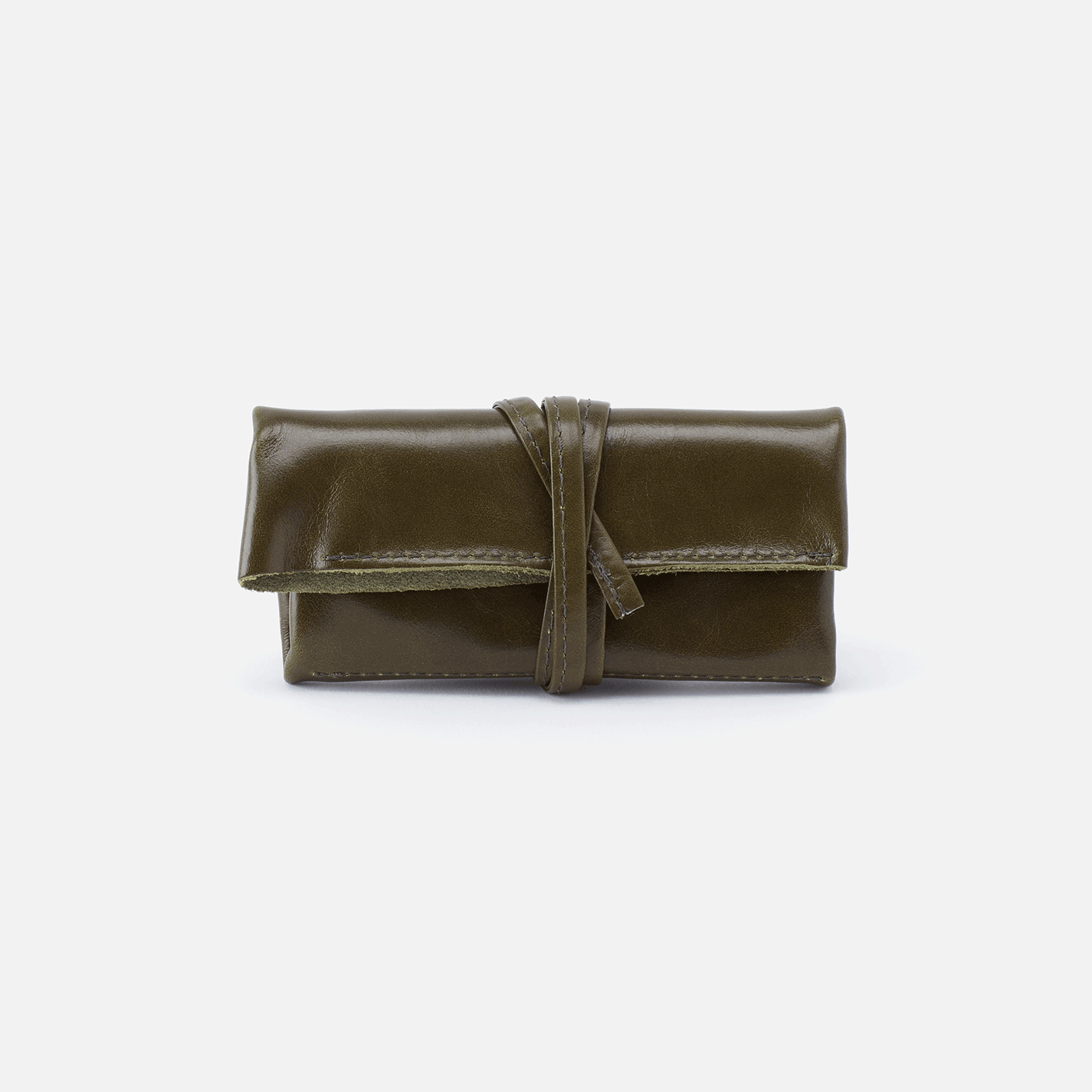 Dasher Jewelry Roll Jewelry Roll Leather Jewelry Green Leather