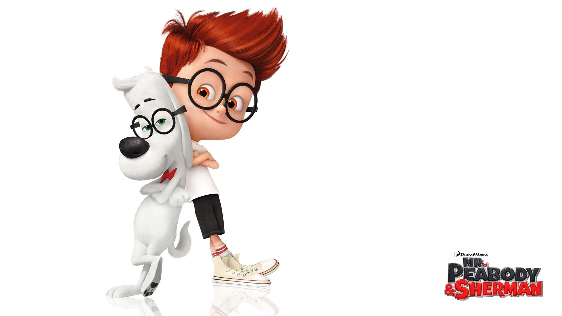 Free Download Mr Peabody And Sherman Iphone Hd Wallpaper Mr