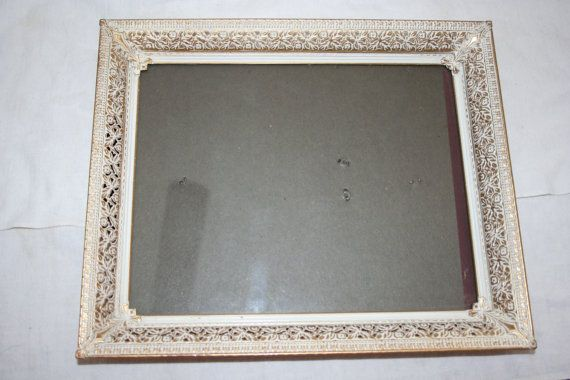Vintage Metal Filagree Picture Frame 9 3 4 Quot X 11 3 4 Quot Vintage Metal Frame Picture Frames