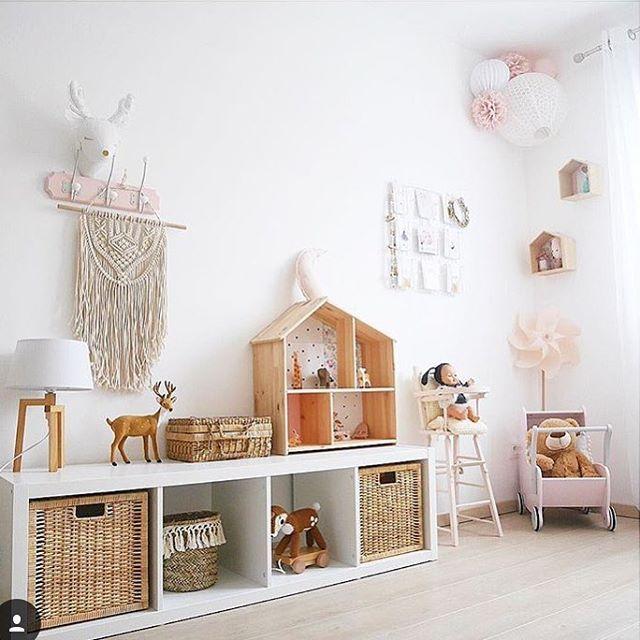 Deco De Chambre Douce Pour Petite Fille Souslelampion Lampions