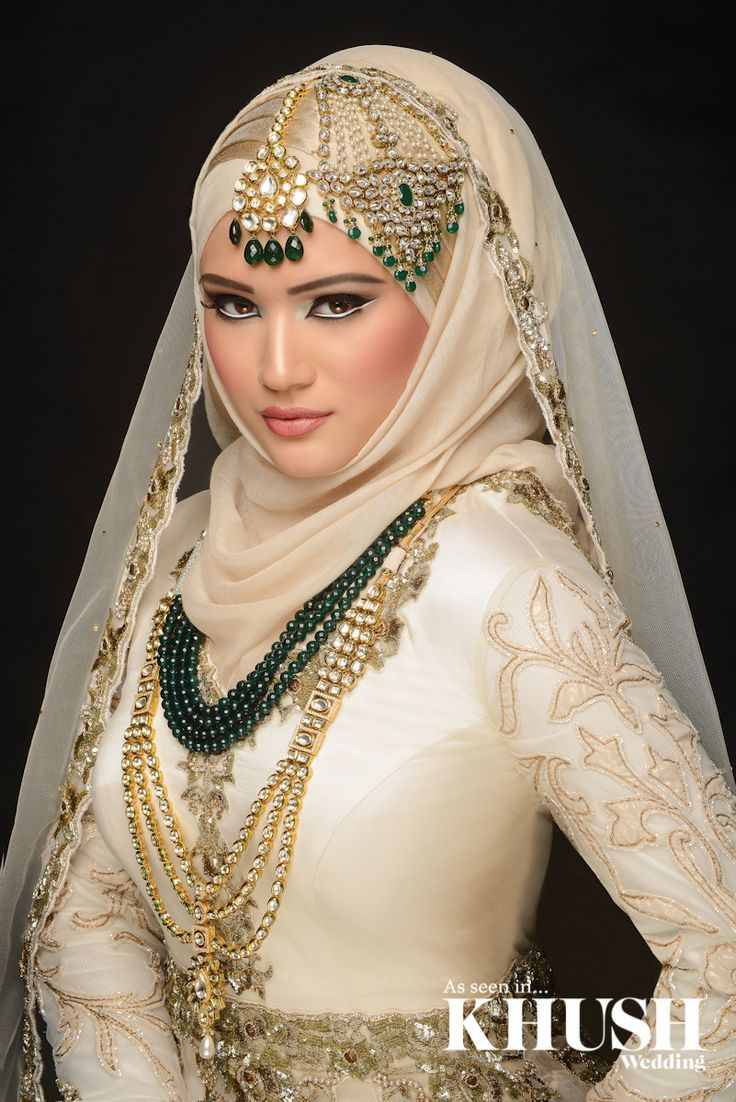 Latest Bridal Hijab Dresses Designs Collection 2016,2017 (5)